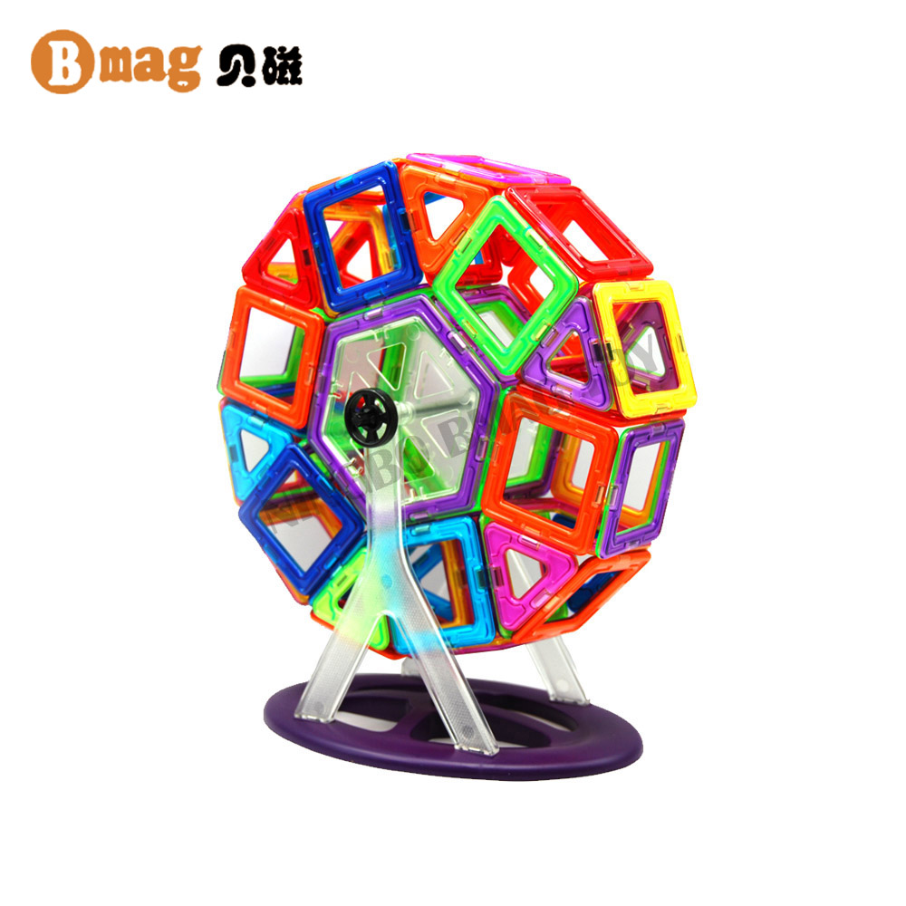 BSCI member factory educational magic build magnetic toys