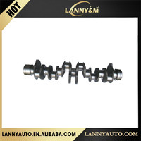 Japanese 8-94395-125-0 Truck engine Crankshaft for 6HE1