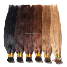 18-24 Inch Straight Stick Tip Pre-bonded I Tip Human Hair Extensions