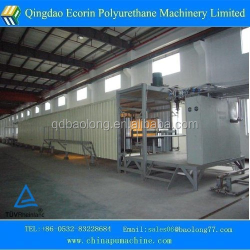 Automatic continuous sponge production line / pu foaming sponge mattress production machine line