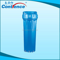 Manufacturers Supply 10' Double O-Ring Water Filter Housing/blue plastic water pipe