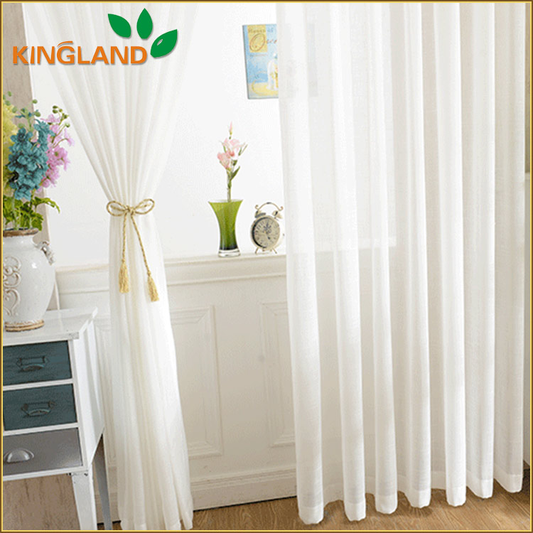 Ready made curtain supplier Window sheer turkish wholesale curtain