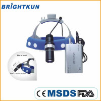BKU011 new deign dental surgical loupes light, portable led dental headlight