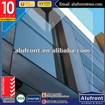 Decorative glass wall / facade wall /curtain wall design