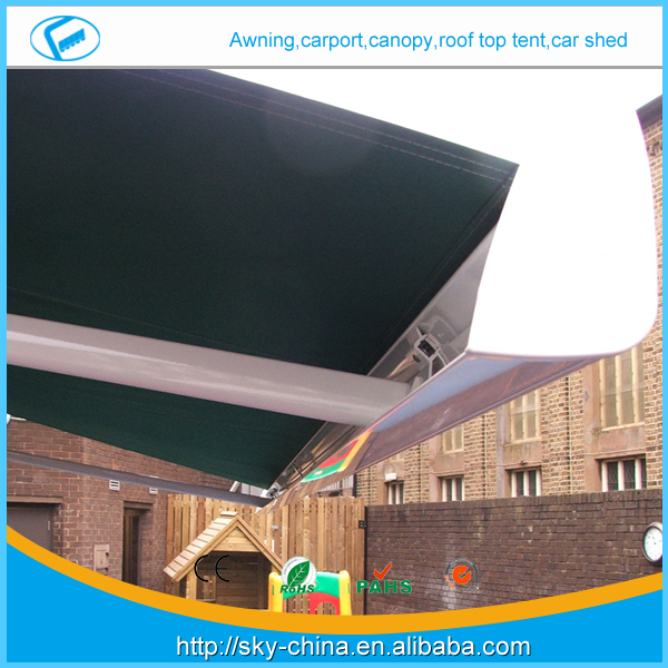 Hot New 2014 High quality european rv awning manufacturer -CZCD3020-RM89 Prefab Electric Retractable door entrance awning