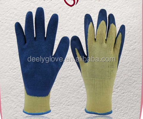 softtextile knitted liner coated cheap latex on palm <strong>safety</strong> working gloves