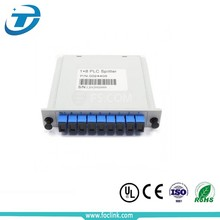 FTTH plug-in type pon outdoor optical splitters, 1x8 optical splitter 1*8 lgx box
