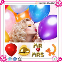 round promotion advertising decoration shaped latex balloons