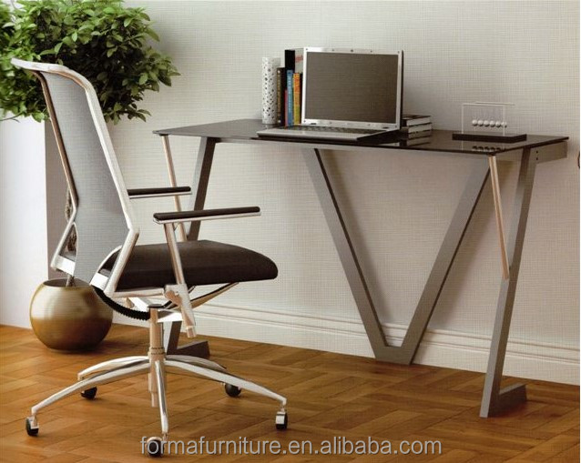 modern office table design glass computer table modern office table photos 40008W2