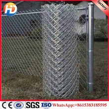 galvanized chain link fence ( factory )