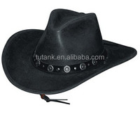 All Leather Western Cowboy Hat Distinguished Yet Stylish with a Low
