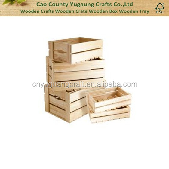 Unfinished wooden crates used wooden wine crate wood for Where to buy used wine crates