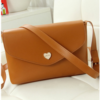 fashion leather small sling bag