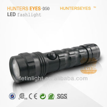 Police Rechargeable LED Torch Light Flashlight