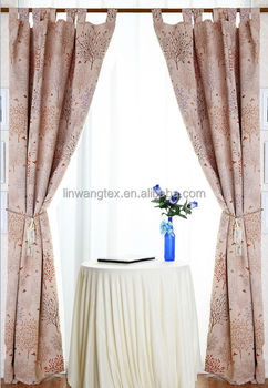 Solid Thermal Insulated Blackout Curtain Fabric