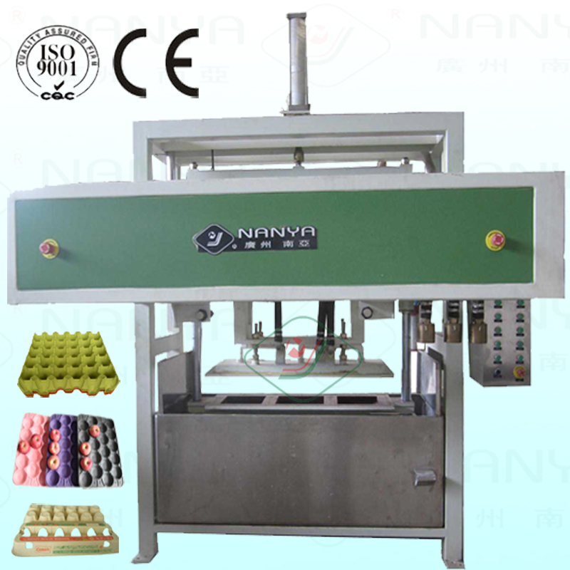 Automatic Waste Paper Egg Tray Making Machine / Shoe Tree Molded Pulp Equipment
