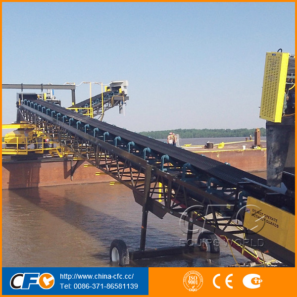 Wear Resistant Transmission Belt Conveyors for Stone Quarry