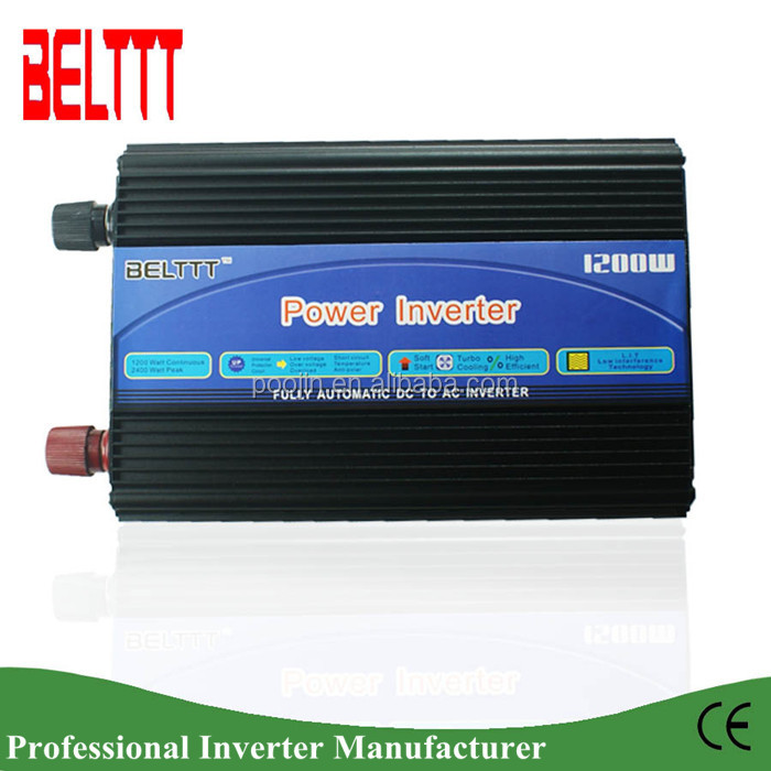 1200W electronics shop online china dc 12V/24V/48V to ac 110V/220V Car Power inverter/coverter 50/60hz Frequency