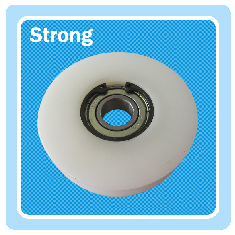 Professional factory plastic moulded injectionpulley pa66 nylon roller