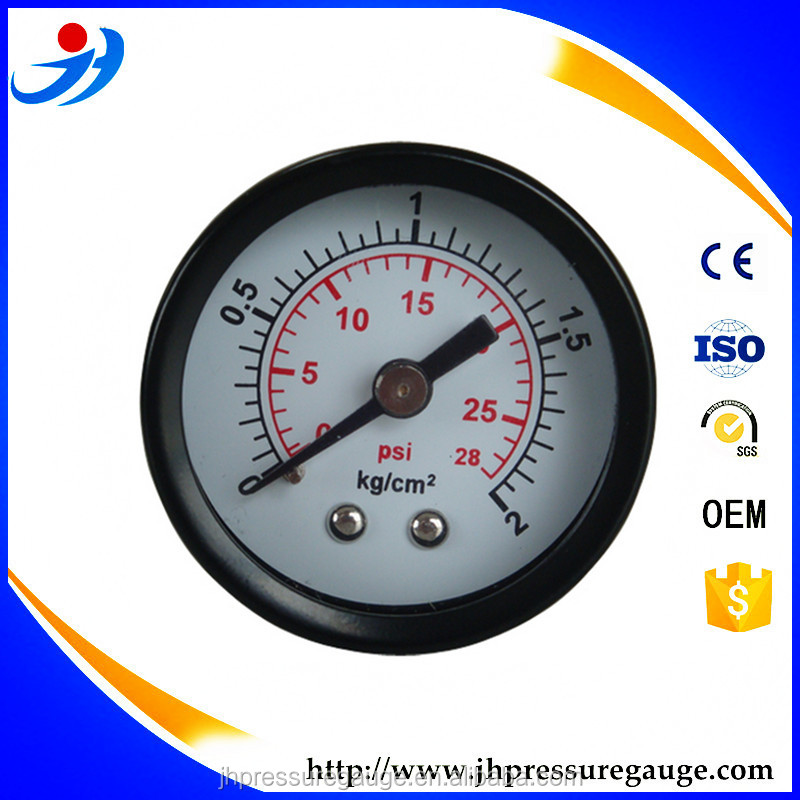 (Z-50) steel case dual scale common pressure gauge available to be customized