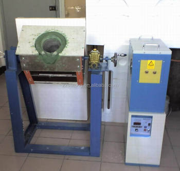 Capacity 10kg Electric Metal Melting Furnace for Heating Experiment