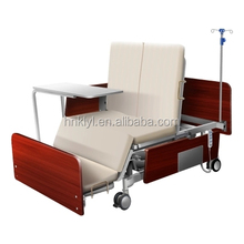 Hot sell !!! Family care paralyze patient specific use wooden home care bed