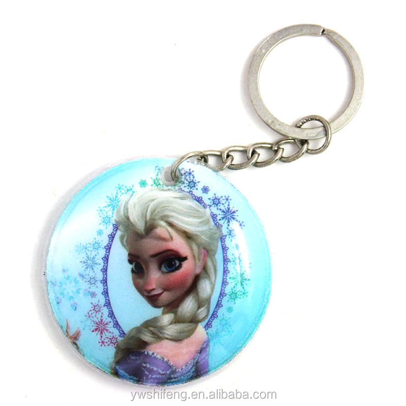 4pcs/lot new movie pvc key chain in doll toy