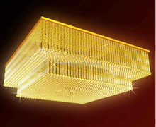 square crystal lamp modern hotel lobby chandelier light/hotel crystal chandelier/crystal chandelier hotel looby lighting