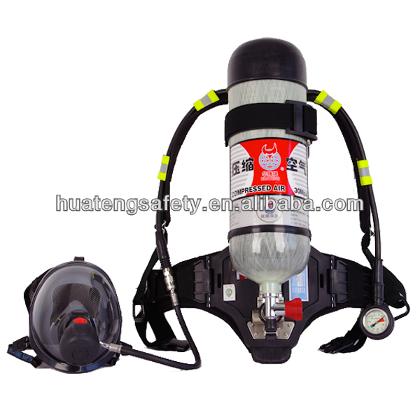 Mining self rescuer , carbon fiber cylinder self contained breathing apparatus set , scba