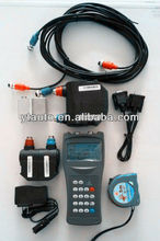 2014 best handheld ultrasonic diesel flow meter price low with clamp on transducers