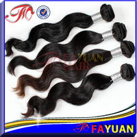 Wholesale 100% raw pure human hair weft double weft single drawn cheap virgin malaysian wavy hair