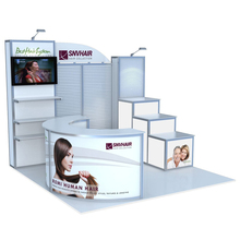 Custom Design 3x3m Exhibition Display Booth From Shanghai