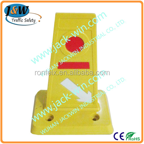Reflective Road Traffic Safety Rubber Lane Divider