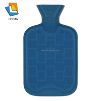 Fashion Rubber Hot Water Bottle Bag Warm Relaxing Heat / Cold Therapy