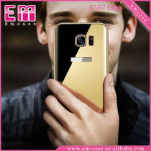 Best Quality Aluminum Bumper Metal Mirror Case For Samsung Galaxy S7 S7 Edge