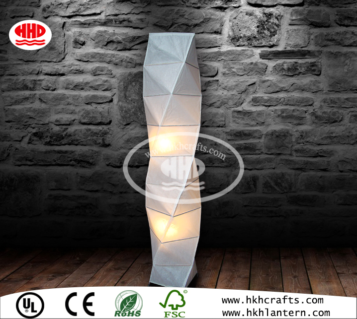 Modern living room decorative rice paper lamp shades for floor lamp