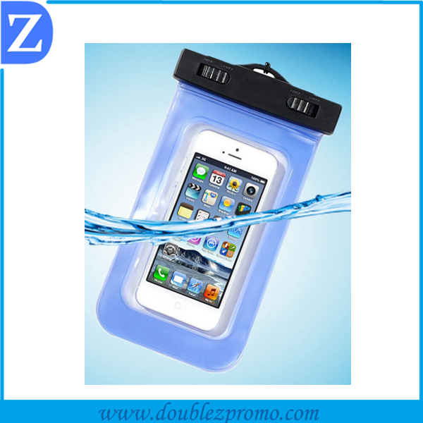 Promotion Clear Waterproof Pouch Bag Dry Case Cover For Cell Phone