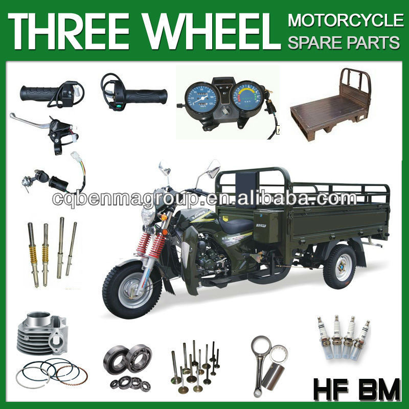 three wheel motorcycle ,Super quality motorcycle parts