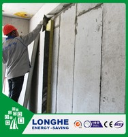 Longhe prefabricated eps concrete sandwich panel house 60mm