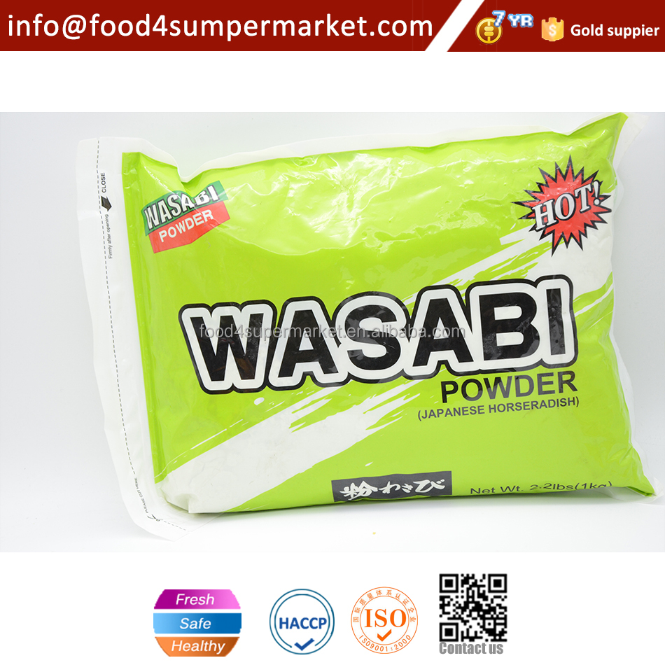 Horseradish powder paste Japanese Sushi Wasabi Powder 1kg