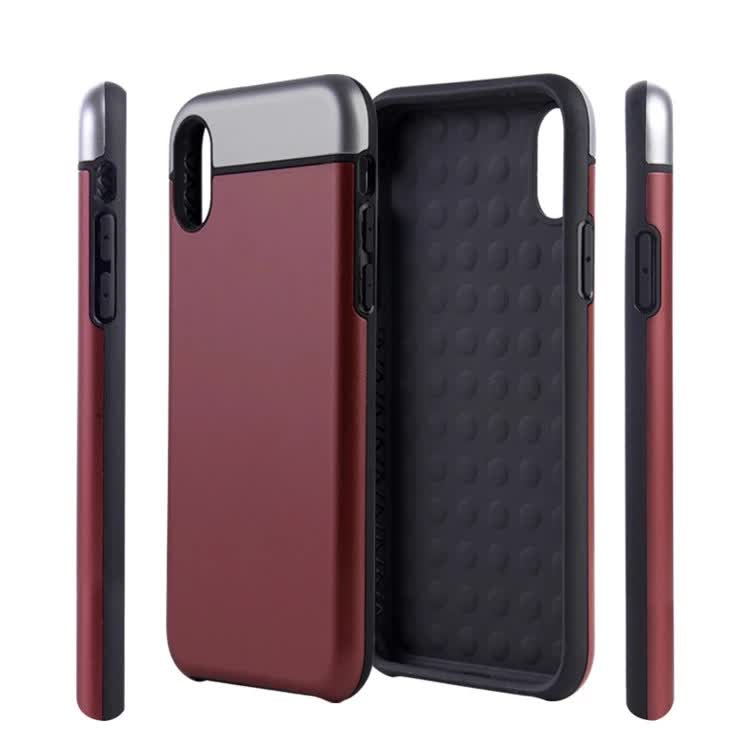 2018 hot selling shock proof PC frame TPU <strong>mobile</strong> <strong>phone</strong> case cover for iphone 8