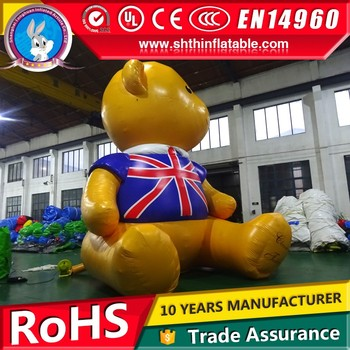 giant inflatable bear model for sale