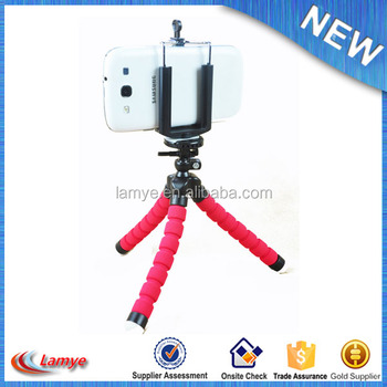 2017 Hot Trending Product High Quality Flexible Octopus Camera Tripod Mini Tripod Stand