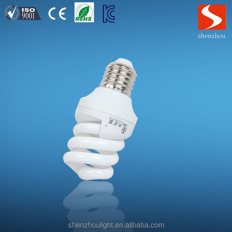 hangzhou top10 energy lamp supplier full spiral saving light bulb with RoHS certificate