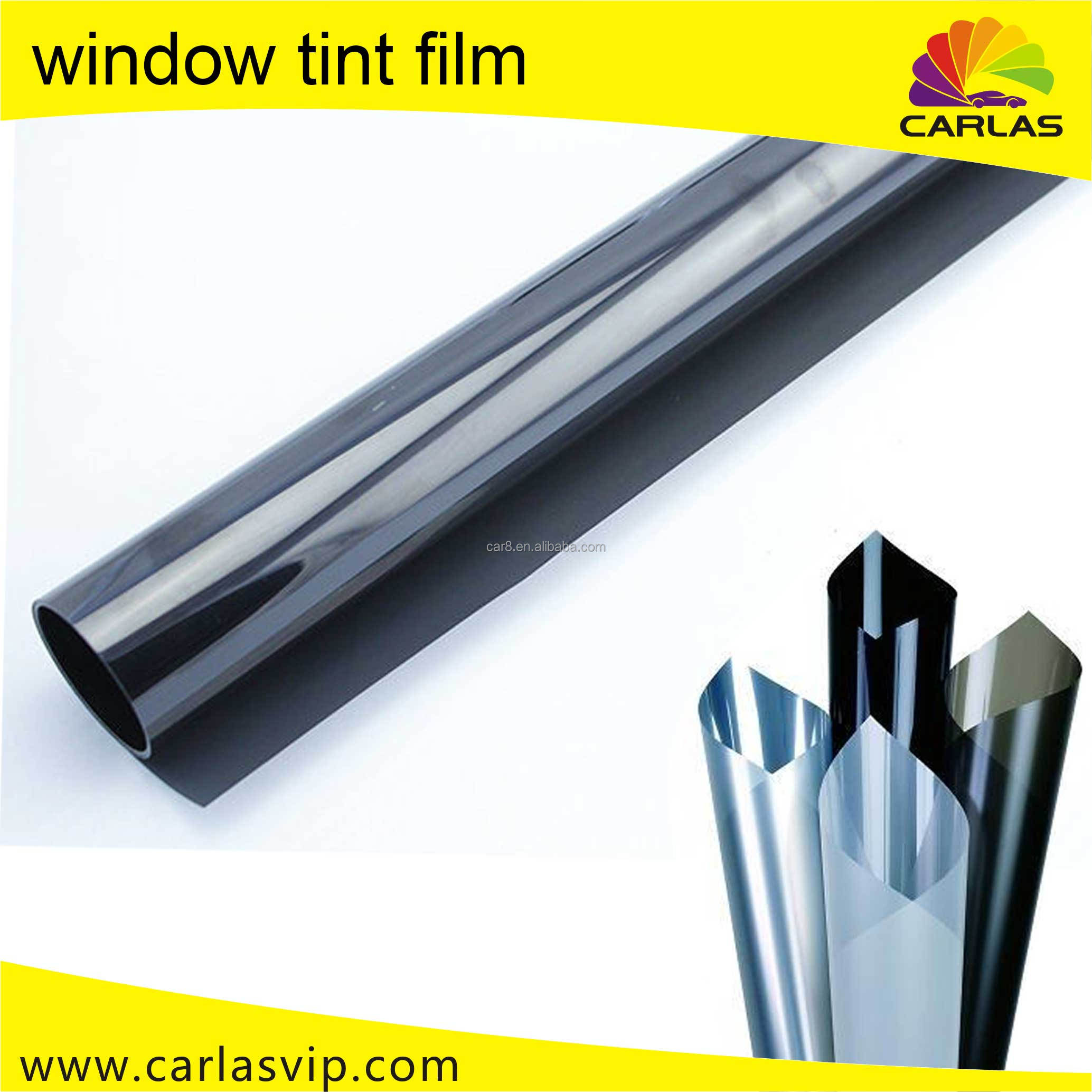 Guangzhou wholesale self adhesive electrostatic window film 5 years gurantee electric tint film for car window