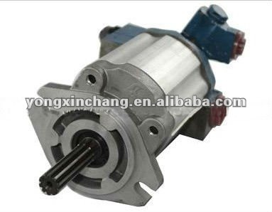 Forklift parts S4E hydraulic pump for Mitsubishi