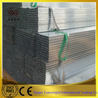 bs1387 class(A.B.C) electrical conduit , pre-galvanized square steel pipe
