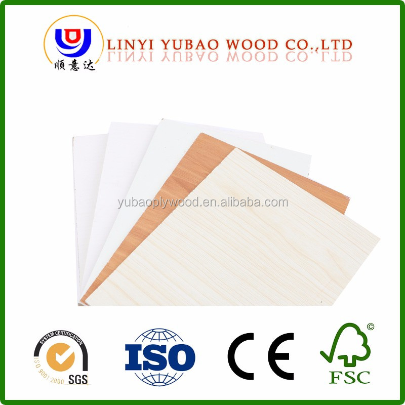 E0 E1 Furniture grade decorative veneered plywood waterproof fancy plywood