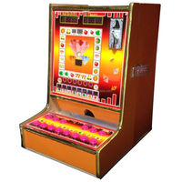 wholesale product on Alibaba coin pusher mario slot machine with wood Material cabinet