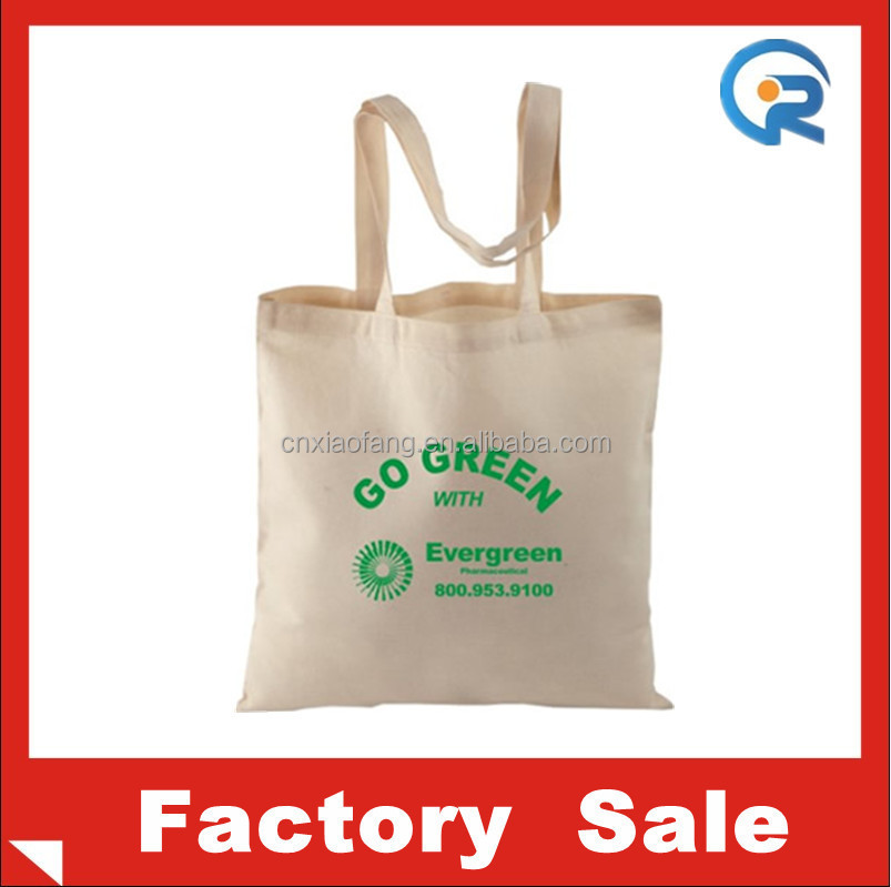 China factory promotional customized cotton baby muslin bag